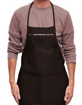 I Love Mormon Guys Apron
