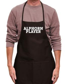 Alphorn Player - Simple Apron