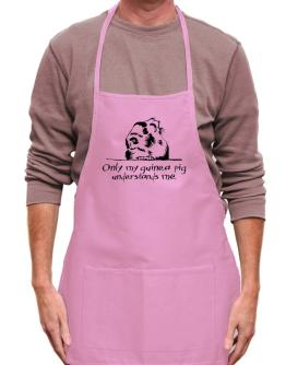 Only my guinea pig understands me Apron