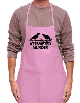 Crows Attempted Murder Apron