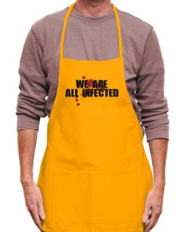 Mandil de We are all infected
