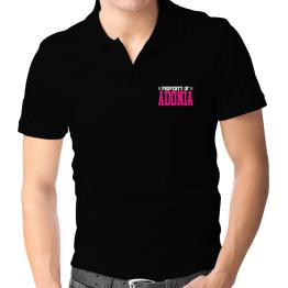 Property Of Adonia Polo Shirt