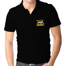 wake up happy .. sleep with a Agricultural Microbiologist Polo Shirt