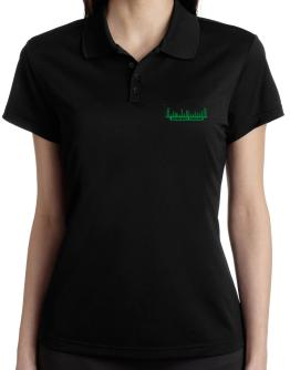 Ambient House - Equalizer Polo Shirt-Womens