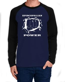 Episcopalian Power Long-sleeve Raglan T-Shirt