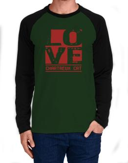 Love Chartreux Long-sleeve Raglan T-Shirt
