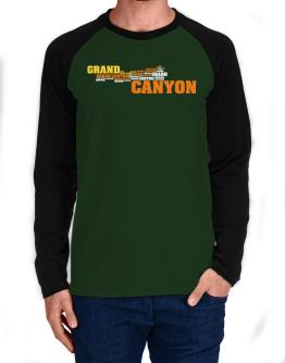 The Grand Canyon Long-sleeve Raglan T-Shirt