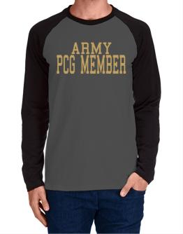 Army Pcg Member Long-sleeve Raglan T-Shirt
