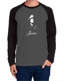 Justice Long-sleeve Raglan T-Shirt