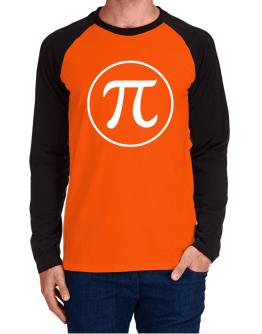 PI circle Long-sleeve Raglan T-Shirt