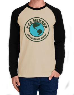Pcg Member Not From This World Long-sleeve Raglan T-Shirt