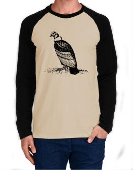 Andean Condor sketch Long-sleeve Raglan T-Shirt