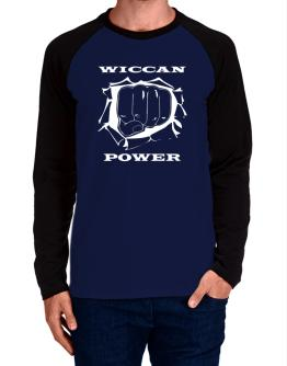 Wiccan Power Long-sleeve Raglan T-Shirt