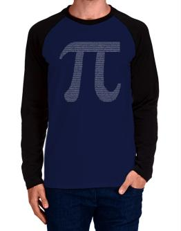 Pi Long-sleeve Raglan T-Shirt