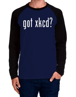 got xkcd? Long-sleeve Raglan T-Shirt
