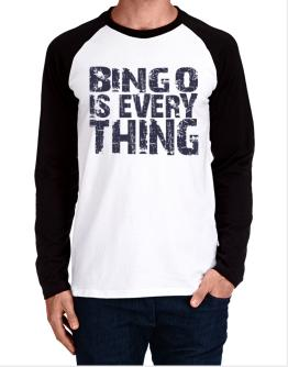 Bingo Is Everything Long-sleeve Raglan T-Shirt