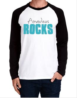 Amadeus Rocks Long-sleeve Raglan T-Shirt