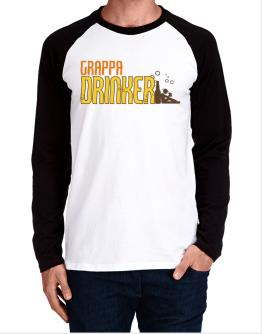 Grappa Drinker Long-sleeve Raglan T-Shirt
