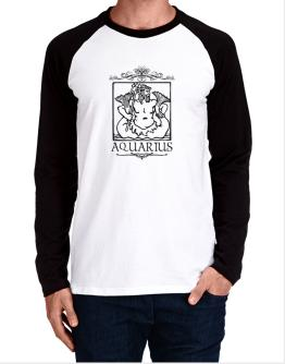 Aquarius Long-sleeve Raglan T-Shirt