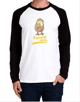 Aquarius Chick Long-sleeve Raglan T-Shirt
