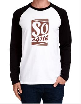 So Agile Long-sleeve Raglan T-Shirt