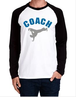 Capoeira Coach Long-sleeve Raglan T-Shirt