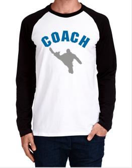 """ Hapkido COACH "" Long-sleeve Raglan T-Shirt"