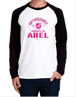Untouchable : Property Of Abel Long-sleeve Raglan T-Shirt