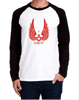 Adorjan - Wings Long-sleeve Raglan T-Shirt