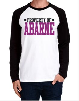 Property Of Abarne Long-sleeve Raglan T-Shirt