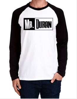 Mr. Duran Long-sleeve Raglan T-Shirt