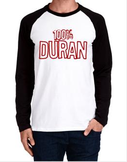 100% Duran Long-sleeve Raglan T-Shirt