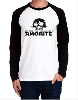 I Can Teach You The Dark Side Of Amorite Long-sleeve Raglan T-Shirt