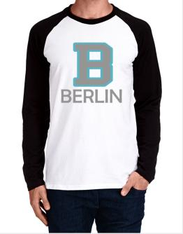 """ Berlin - Initial "" Long-sleeve Raglan T-Shirt"