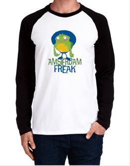Amsterdam Freak Long-sleeve Raglan T-Shirt