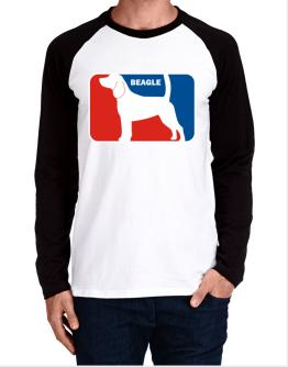 Beagle Sports Logo Long-sleeve Raglan T-Shirt