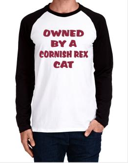 Owned By S Cornish Rex Long-sleeve Raglan T-Shirt