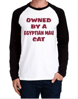 Owned By S Egyptian Mau Long-sleeve Raglan T-Shirt