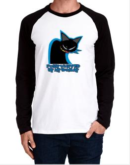 Pussy Whipped By My Bombay Long-sleeve Raglan T-Shirt