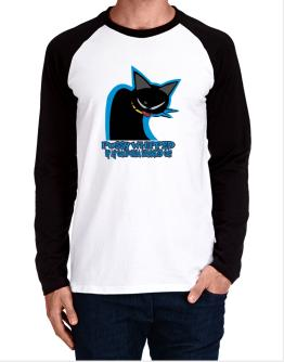 Pussy Whipped By My California Spangled Cat Long-sleeve Raglan T-Shirt