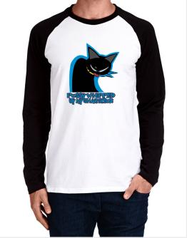 Pussy Whipped By My Chartreux Long-sleeve Raglan T-Shirt