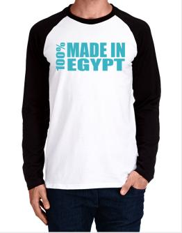 100% Made In Egypt Long-sleeve Raglan T-Shirt