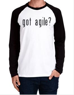Got Agile? Long-sleeve Raglan T-Shirt