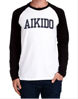 Aikido Athletic Dept Long-sleeve Raglan T-Shirt