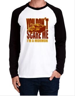 Dont Scare Me Long-sleeve Raglan T-Shirt