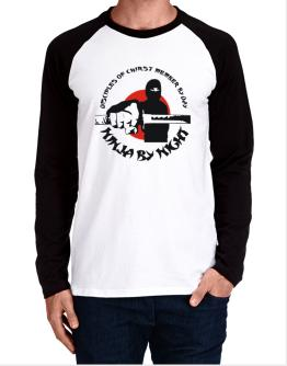 Disciples Of Chirst Member By Day, Ninja By Night Long-sleeve Raglan T-Shirt