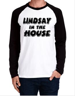 Lindsay In The House Long-sleeve Raglan T-Shirt