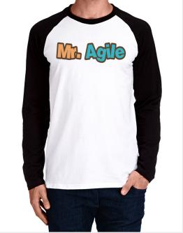 Mr. Agile Long-sleeve Raglan T-Shirt
