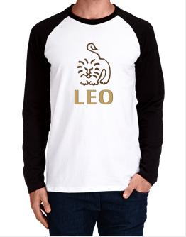 Leo - Cartoon Long-sleeve Raglan T-Shirt