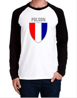 Polson Escudo Usa Long-sleeve Raglan T-Shirt